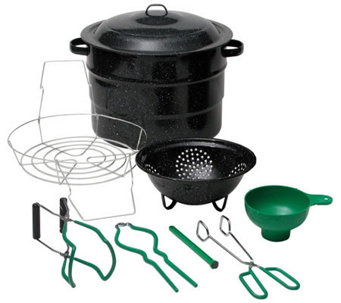 Granite Ware 9-Piece Canner Kit - K302146