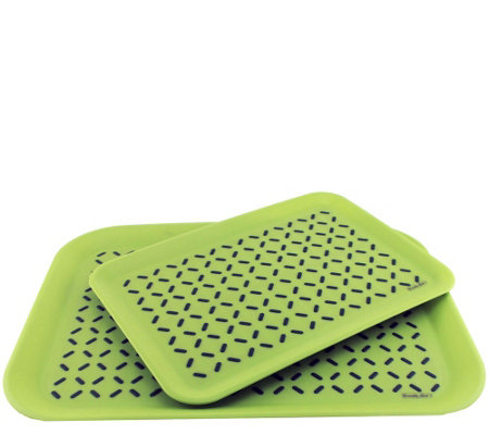 BergHOFF CooknCo Anti-Slip Serving Tray 2-PieceSet