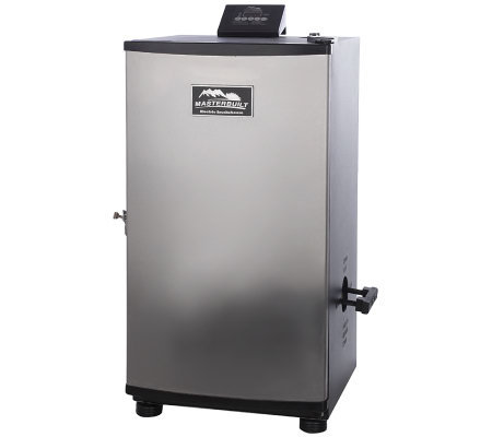 Masterbuilt 4 Rack Digital Stainless Steel Electric Smoker w/ Rib Rack