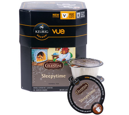 Keurig 32 Vue Packs Celestial Seasonings Sleepytime Tea