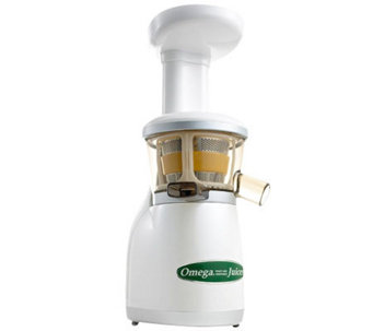 omega vertical masticating hd juicer vrt350w k299847