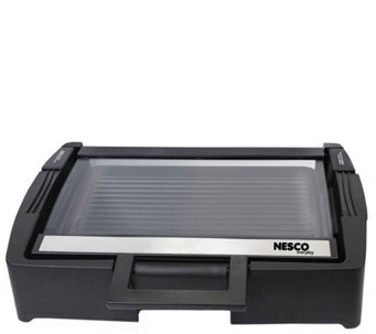 Nesco Electric Grill with Glass Lid - K305647