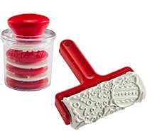 Gourmac Christmas Cookie Stamp & Roller Set - K306747