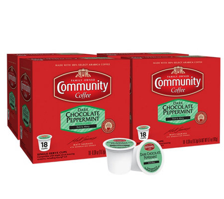 Community Coffee 72-ct Dark Chocolate Mint Single-Serve Cups