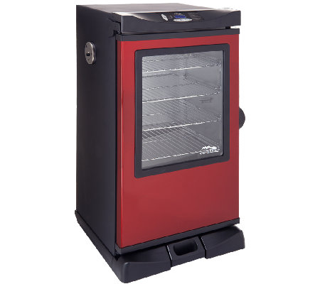 "Masterbuilt 30"" 4 Rack Electric Smoker w/Cover, Recipes & Accessories"