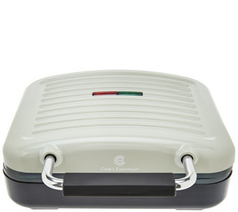 Cook's Essentials 1400 Watt Steam Grill w/ Ceramic Plates - K42947