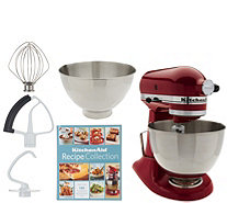KitchenAid 4.5qt. 300W Tilt Head Stand Mixer with 3qt. Bowl - K46647