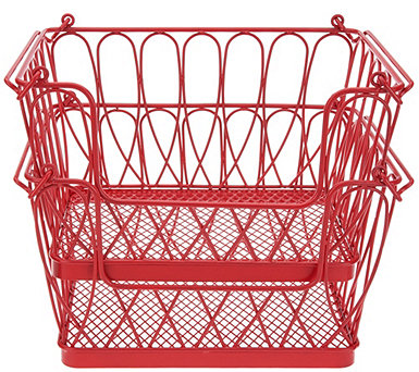 Gourmet Basics by Mikasa Loop Stacking and Nesting Baskets - K46747