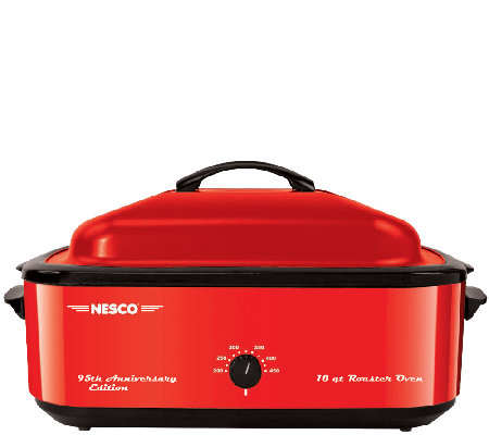 NESCO 18-qt Roaster Oven - 95th Anniversary Edition Red