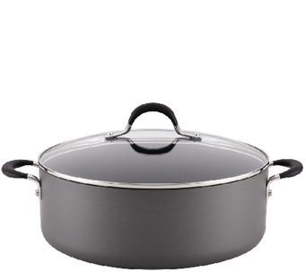 Circulon Momentum Hard-Anodized 7.5-qt CoveredStockpot - K304448