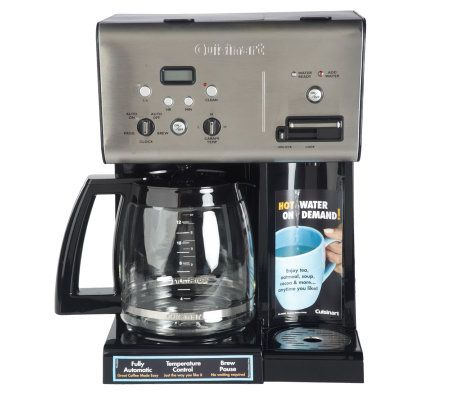 Cuisinart 12 Cup Coffee Maker & Hot Water System - Page 1 QVC.com