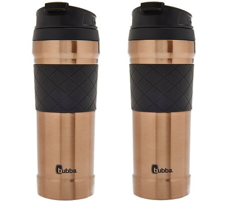 Bubba Set of 2 Tasteguard 16oz. Travel Mugs