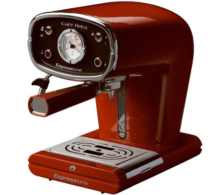 Espressione New Cafe - Retro Red