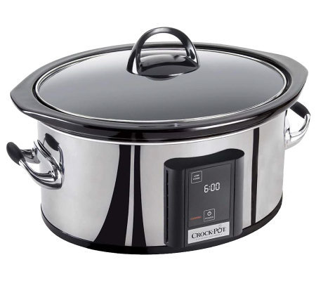Crock-Pot 6.5-Qt Programmable Slow Cooker withTouchscreen