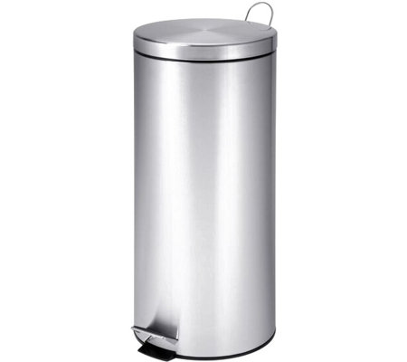 Honey-Can-Do 30L Stainless Steel Trash Can withBucket