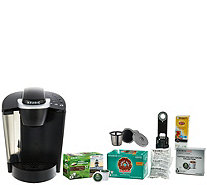 Keurig K55 Coffee Maker w/ My K-Cup, 31 K-Cup Pods & Water Filters - K45349