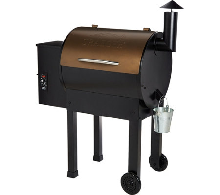 Traeger Lil Tex Elite 22 Wood Fired Pellet Grill