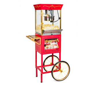 "Nostalgia Electrics 59"" Popcorn & Concession Cart - K299450"