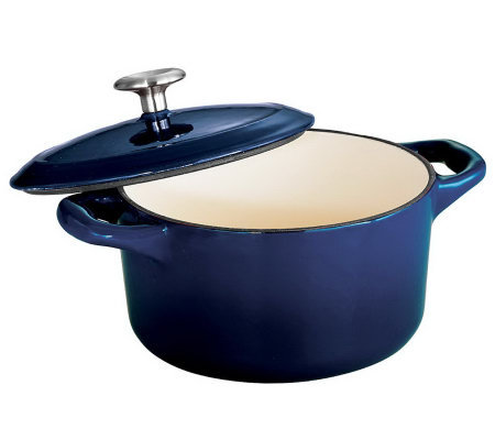 Tramontina Gourmet Enameled Cast-Iron 10.5-oz Mini Cocotte
