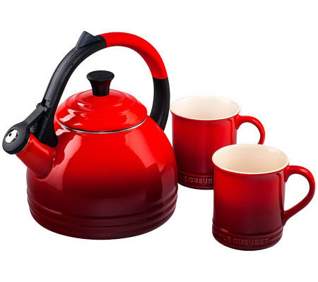 Le Creuset Peruh Kettle and Mug Set