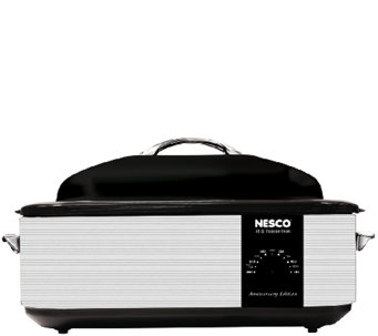 NESCO 18-qt Roaster Oven - 95th Anniversary Edition Gray - K304350
