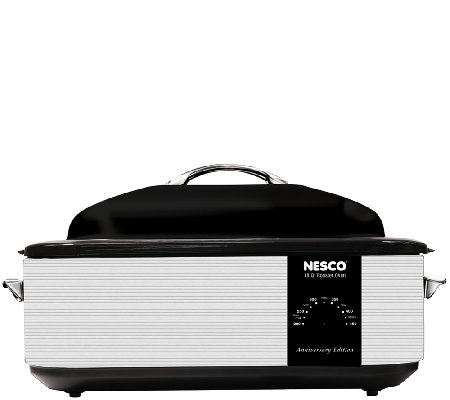 NESCO 18-qt Roaster Oven - 95th Anniversary Edition Gray