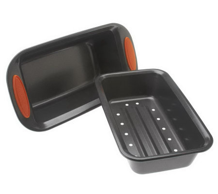 Rachael Ray Nonstick 2-Piece Loaf Pan Set