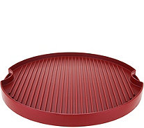 "Cook's Essentials 15"" Reversible Round BBQ Grill & Griddle - K45550"