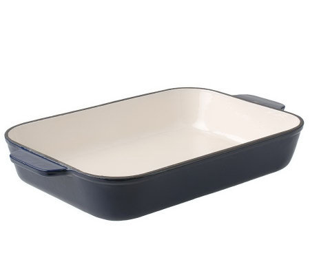 "Technique Enamel Cast Iron 13"" x 9"" Lasagna Pan"