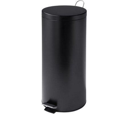 Honey-Can-Do 30L Black Trash Can with Bucket