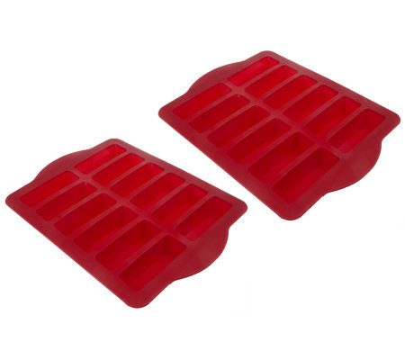 Chris Freytag Set Of 2 Silicone Dessert Bar Pans Page 1