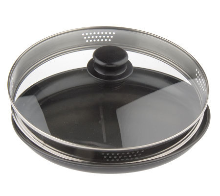 Waveware Microwave Crisping Dish With Gl Lid