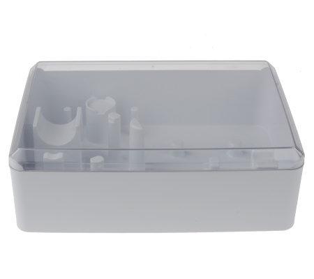 kitchenaid food processor accessories storage case - page 1 — qvc
