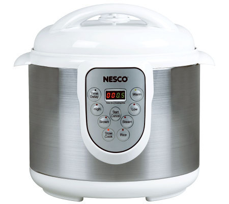 Nesco 6-Liter Electric Pressure Cooker