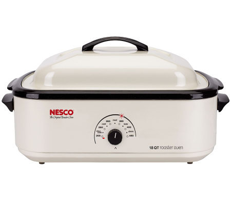 Nesco 18-Quart Roaster Oven - Ivory