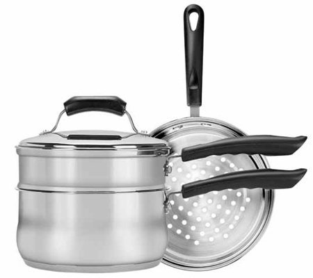 Range Kleen 4-piece Stainless Steel Cookware