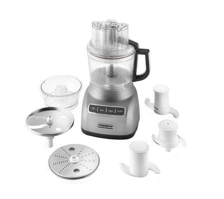 KitchenAid 9-Cup Food Processor - Silvertone