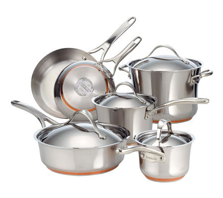 Anolon Nouvelle Stainless 10-Piece Set