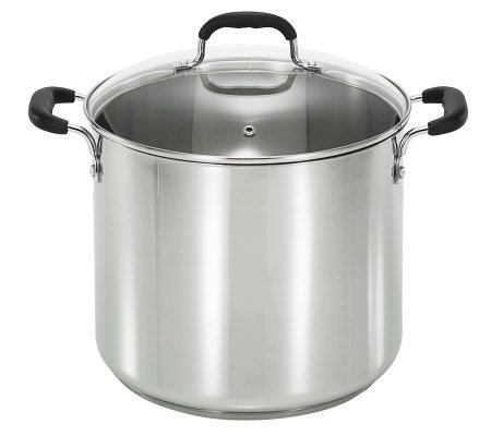 T-Fal 12-Qt Stainless Steel Stock Pot