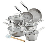 Ayesha Curry 11-Piece Stainless Steel CookwareSet - K376553