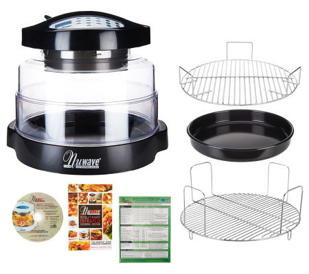 NuWave Pro 8-in-1 Digital Oven with Extender Ring, Rack & Pan