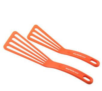 Rachael Ray 2pc Orange Nylon Turner Set - K126954
