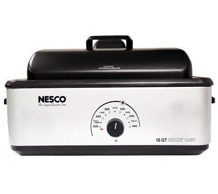 Nesco 18-Quart Roaster Oven - Silver