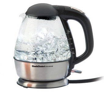 Chef's Choice Cordless Electric Glass Kettle - K302154