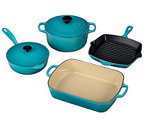Le Creuset 6-piece Signature Cast-Iron Set - K303254
