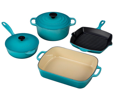 Le Creuset 6-piece Signature Cast-Iron Set