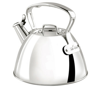 All-Clad 2 Qt. Stainless Steel Tea Kettle - K304854