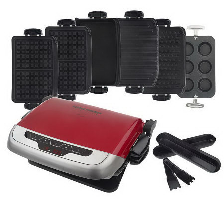George foreman evolve grill w 6 removable non stick plates page 1 - Grill with removable plates ...