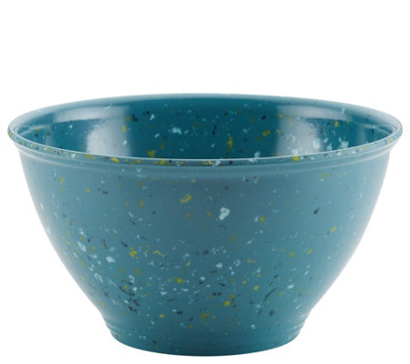 Rachael Ray Melamine Garbage Bowl with Rubber Foot
