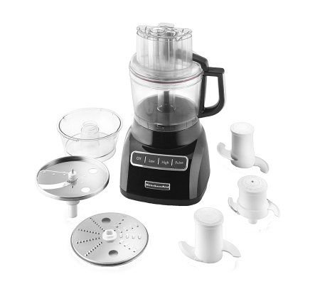KitchenAid KFP0922OB 9-Cup Food Processor - Onyx Black